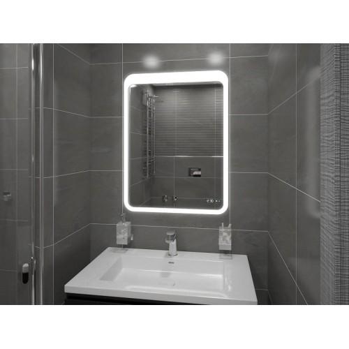 Зеркало в ванную с подсветкой Анна